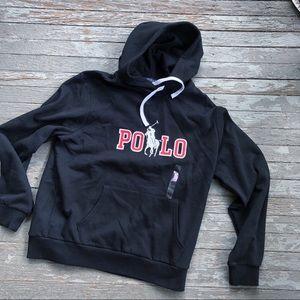 Polo Ralph Lauren logo hoodie size L